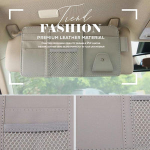 Car Sun Visor Organizer Storage Bag