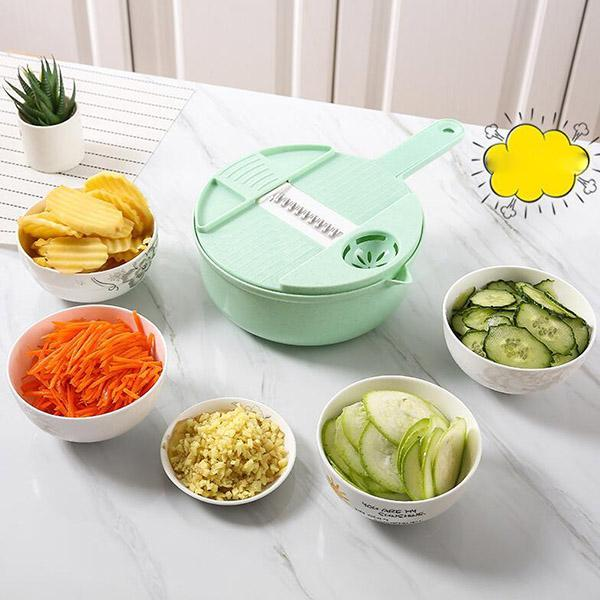 Circular Hand - Pulled Vegetable Cutter