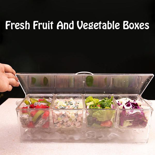 Fresh Fruit And Vegetable Boxes