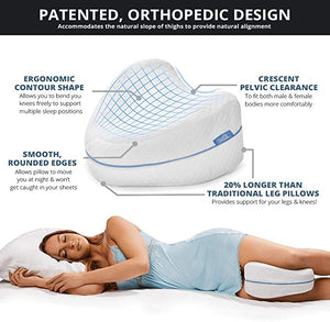 Comfortable leg pillow (with pillowcase)