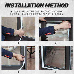 Weather Stripping Door Seal Strip ★Delivered to your door within 7days★