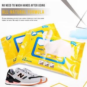 Shoes Cleaning Wipes (12Pcs/Pack)