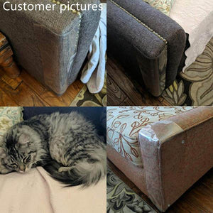 Anti-cat Scratching Sofa Protector (2pcs with 10 pins)