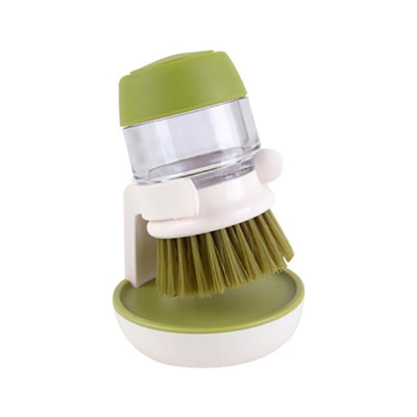 Press-type Dishwashing Brush