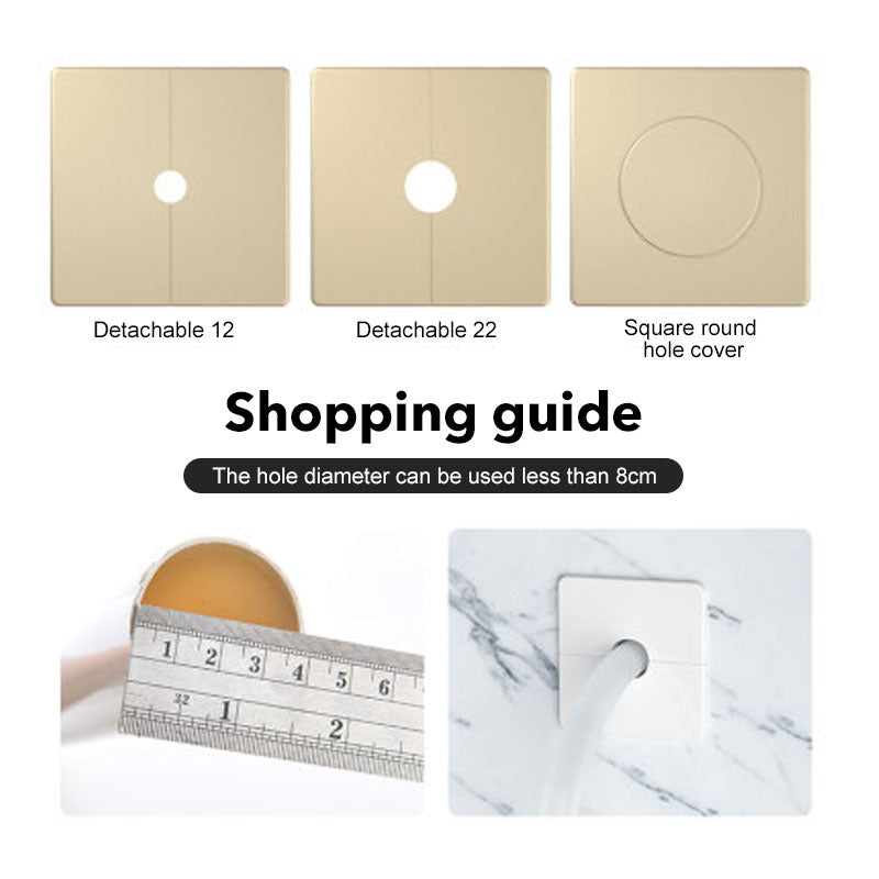 Detachable Hole Decorative Cover
