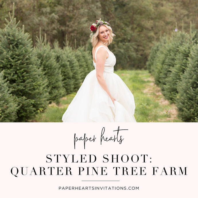 A Styled Shoot at Quarter Pine Tree Farm