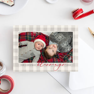Our Blessings Holiday Card