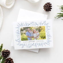 Load image into Gallery viewer, Prairie Flower Holiday Card