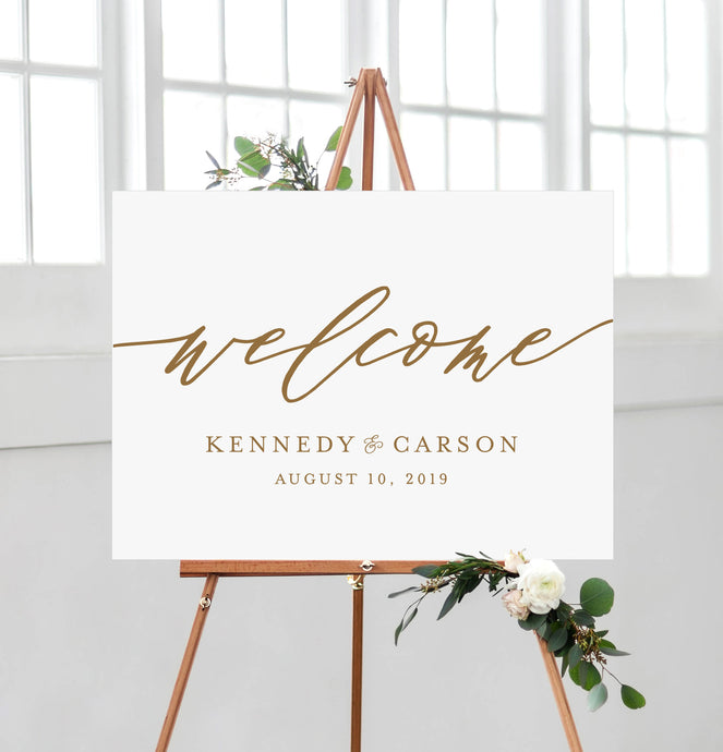 Kennedy Welcome Sign