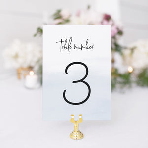 Addison Table Number