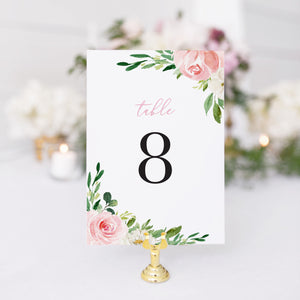 Brittany Table Number