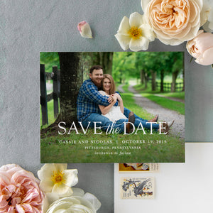Cassie Save the Date