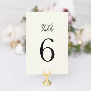 Cassie Table Number