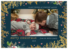 Load image into Gallery viewer, FOIL Christmas Groove Holiday Card