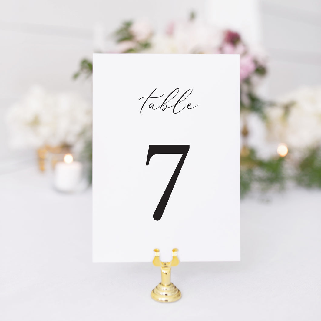 Elaina Table Number