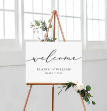 Load image into Gallery viewer, Elaina Welcome Sign