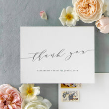 Load image into Gallery viewer, Elizabeth Thank You Card