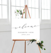 Load image into Gallery viewer, Elizabeth Welcome Sign