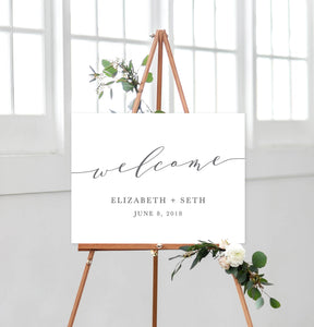 Elizabeth Welcome Sign