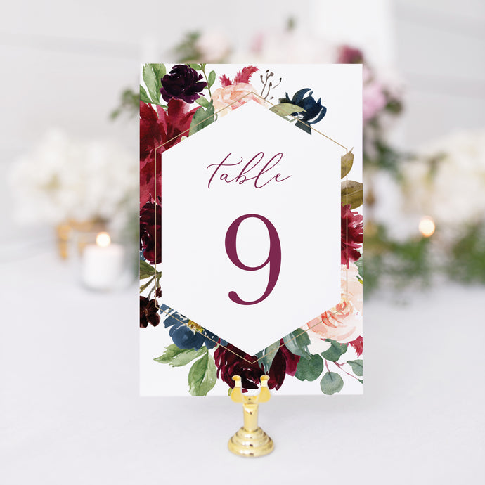 Erin Table Number