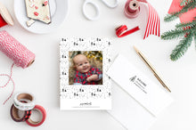 Load image into Gallery viewer, FOIL Happy Holidays Holiday Card