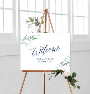 Jillian Welcome Sign