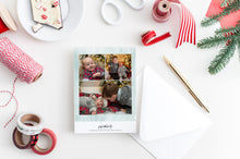 Load image into Gallery viewer, FOIL Joy Wreath Holiday Card