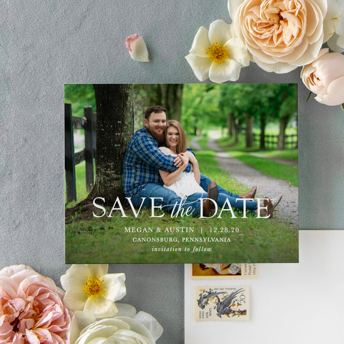 Megan Save the Date