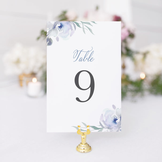 Megan Table Number