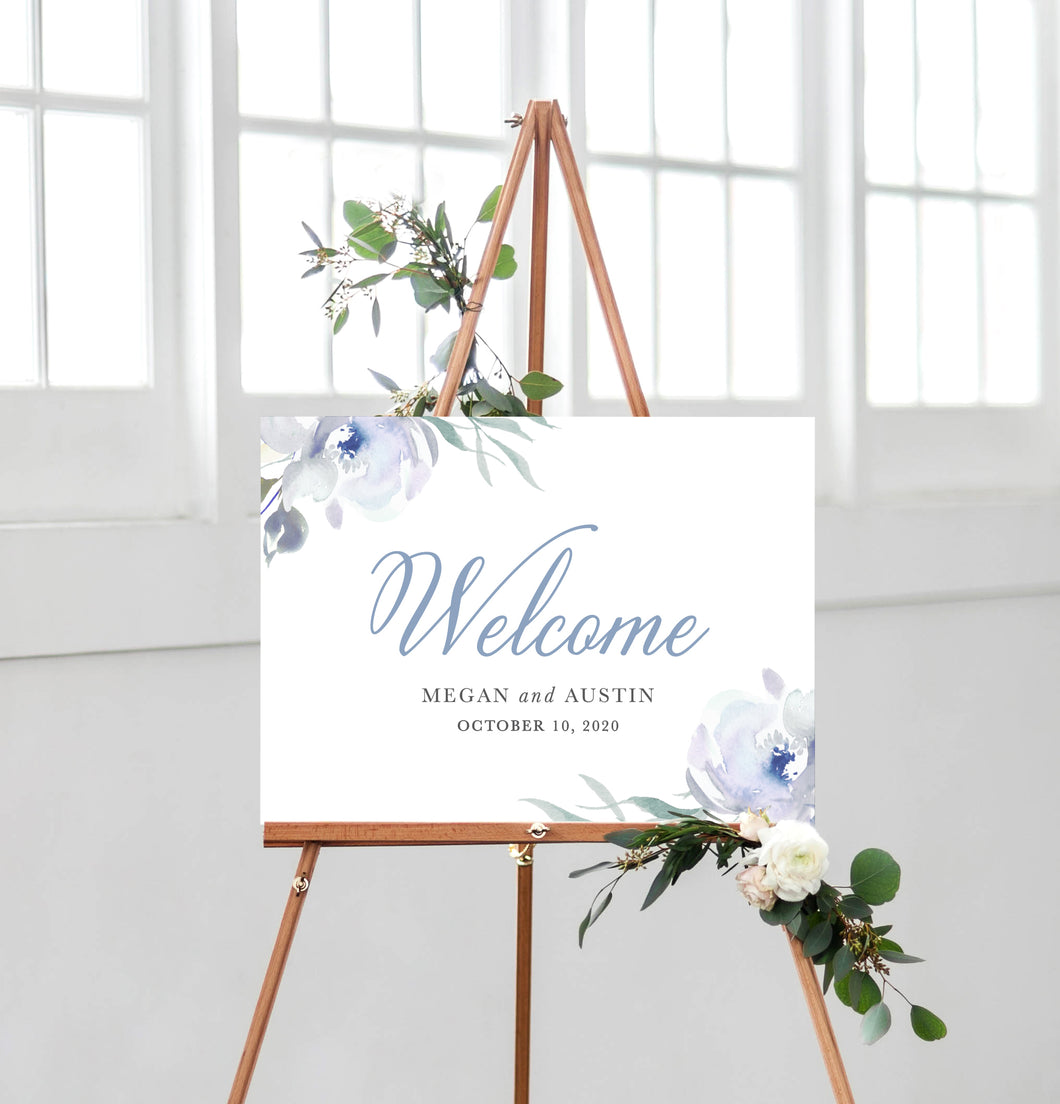 Megan Welcome Sign