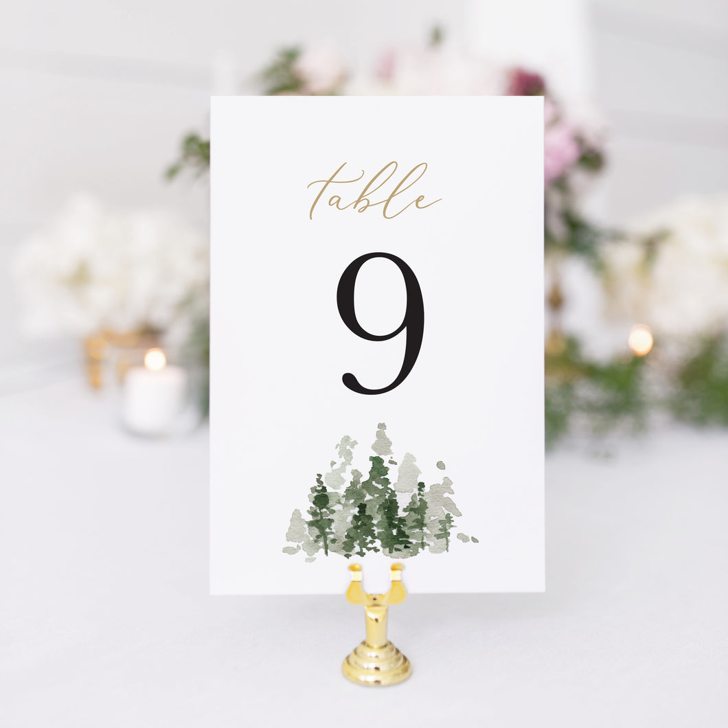 Morgan Table Number