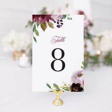 Load image into Gallery viewer, Nicole Table Number