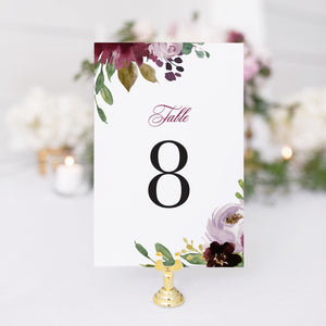 Nicole Table Number