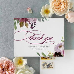 Nicole Thank You Card