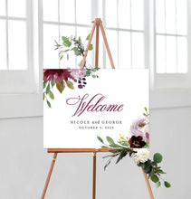 Load image into Gallery viewer, Nicole Welcome Sign