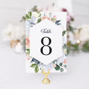Scarlett Table Number