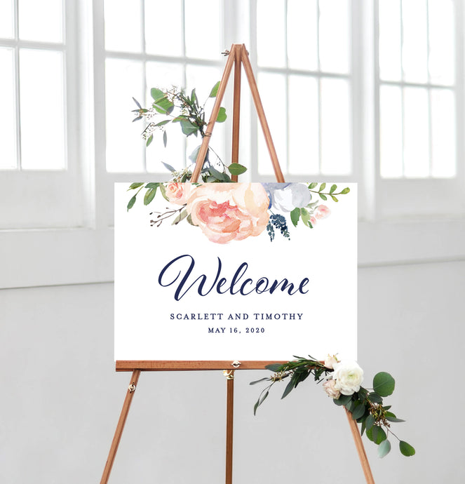 Scarlett Welcome Sign