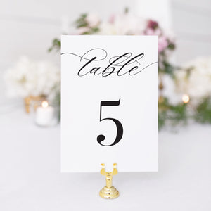 Taylor Table Number