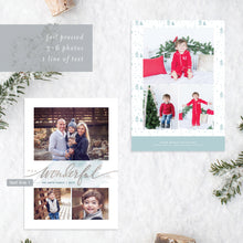 Load image into Gallery viewer, FOIL Wonderful Life Holiday Card