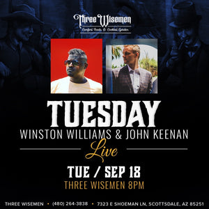 3 Wisemen with Winston Williams Sept. 18