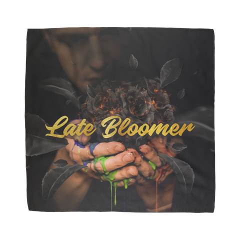 Late Bloomer Sublimation Bandana