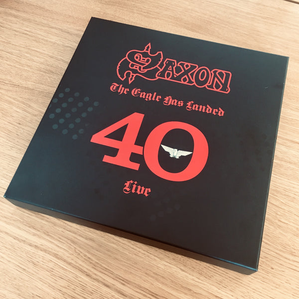 The Eagle Has Landed 40 (Live) - 747 Signature Edition Box