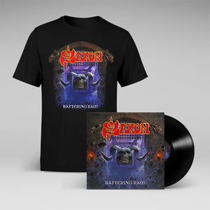 "Battering Ram 12"" Vinyl + T-shirt Bundle"
