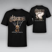 "Load image into Gallery viewer, Unplugged And Strung Up + Heavy Metal Thunder 12"" Vinyl + T-shirt Bundle"