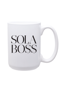 SOLA BO$$ Coffee Mug (Large)