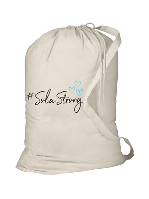 #SolaStrong Laundry Bag (use code SOLASTRONG for 15% off)