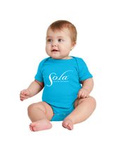 Load image into Gallery viewer, Sola Classic Logo Onesies (three colors available)
