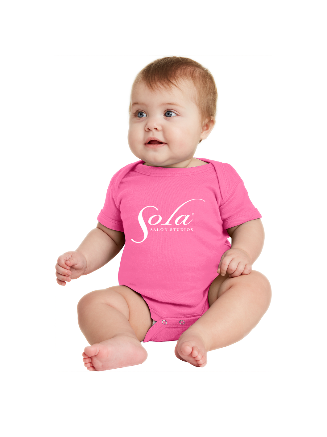 Sola Classic Logo Onesies (three colors available)