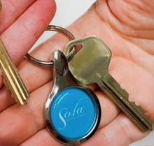 Load image into Gallery viewer, Classic Sola Keychain