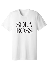 Load image into Gallery viewer, Unisex SOLA BO$$ Short Sleeve Tee